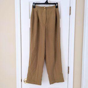 🌿 Vintage Olive Green High Rise Work Pants